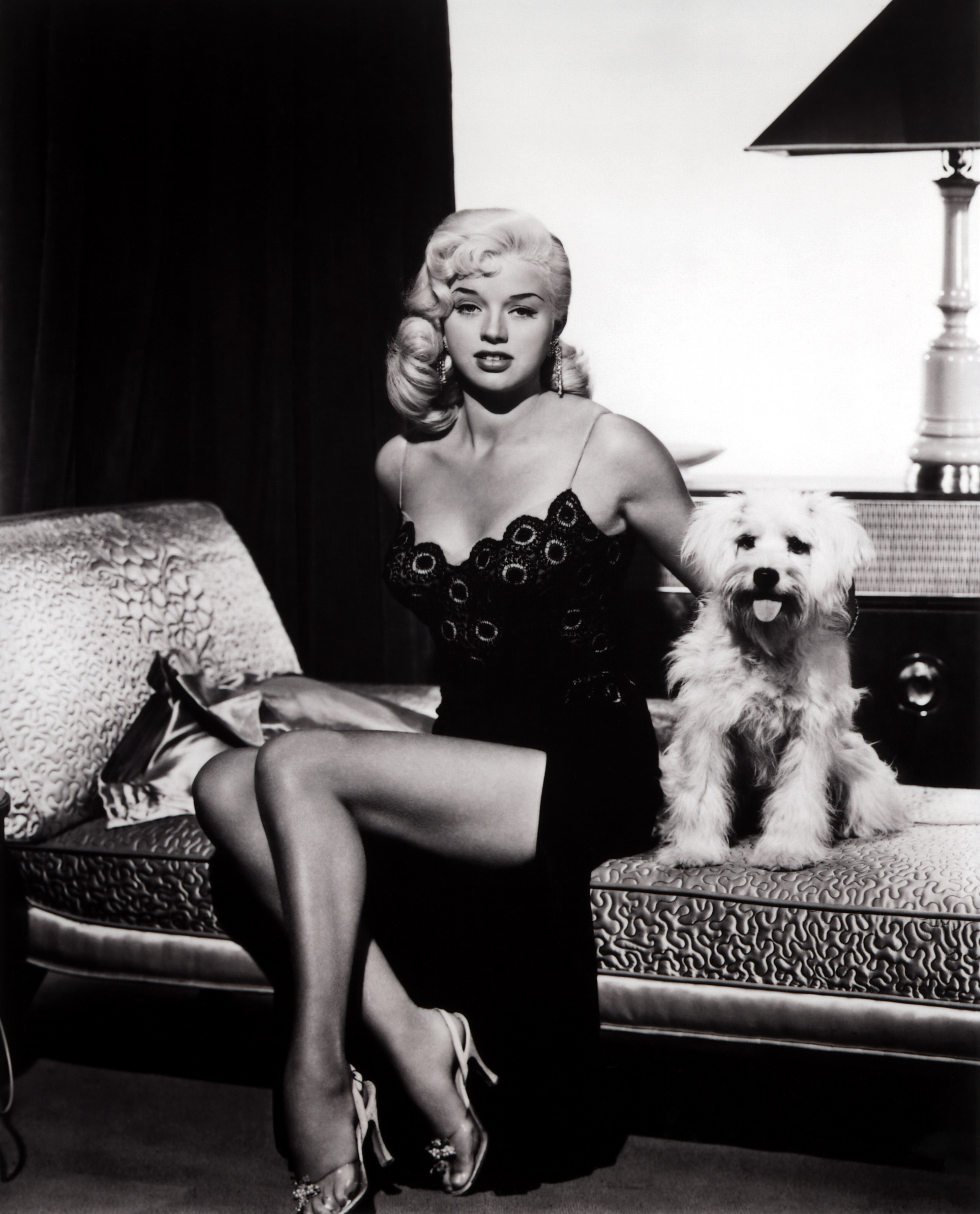 Zachary Bennett Actor Diana Dors's Feet