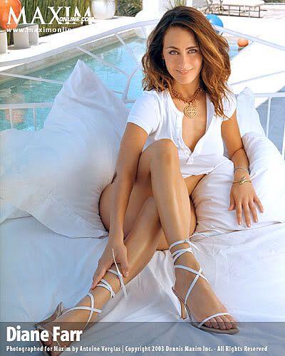 Diane Farr's Feet