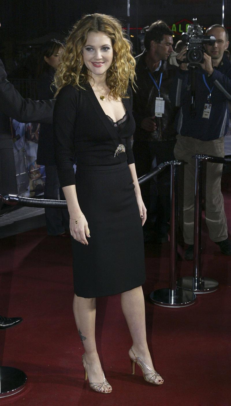 Drew Barrymore's Feet