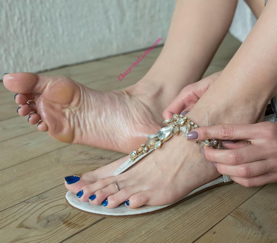 Pin on feet