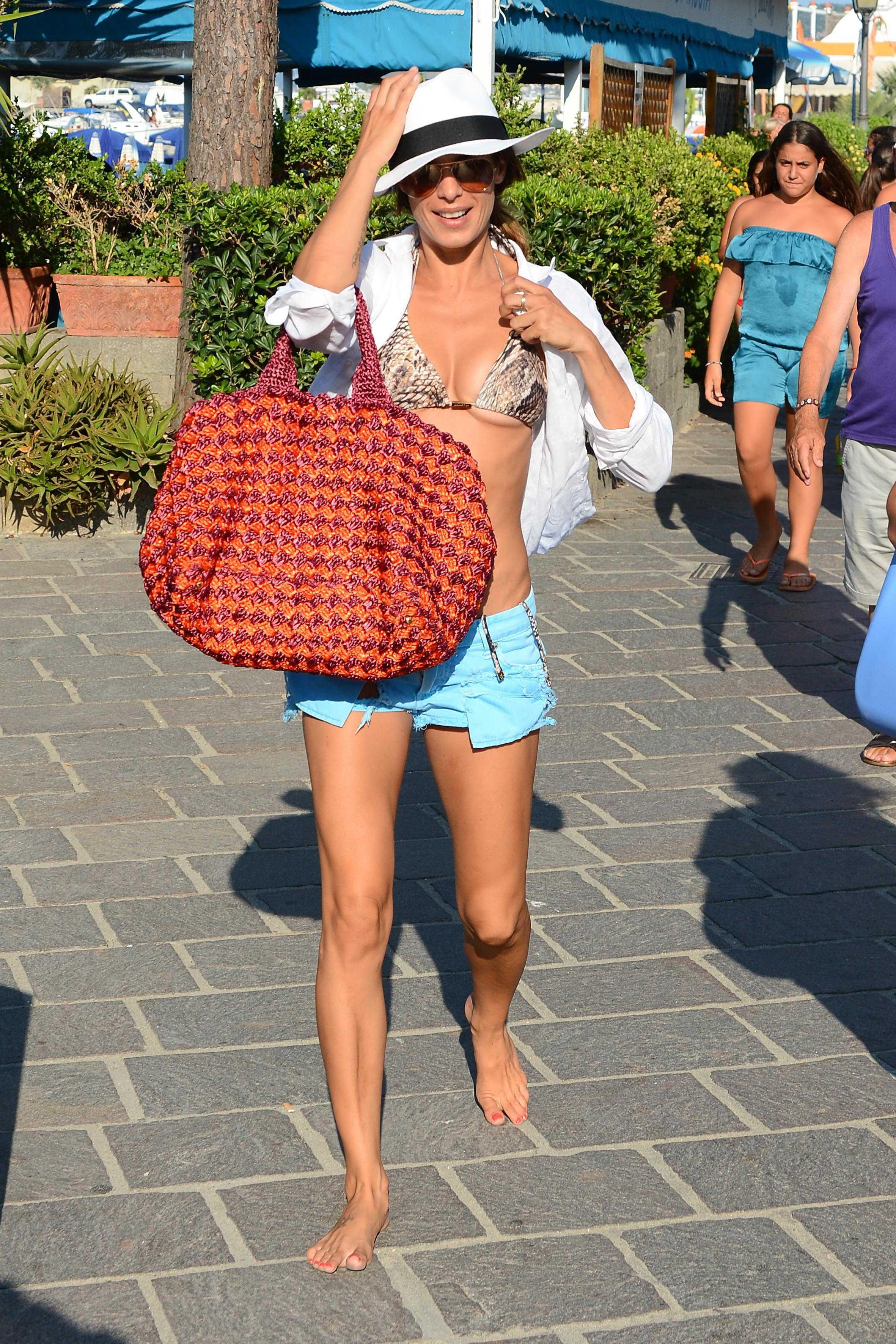 Elisabetta Canalis S Feet