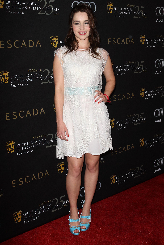 Emilia Clarke Toes