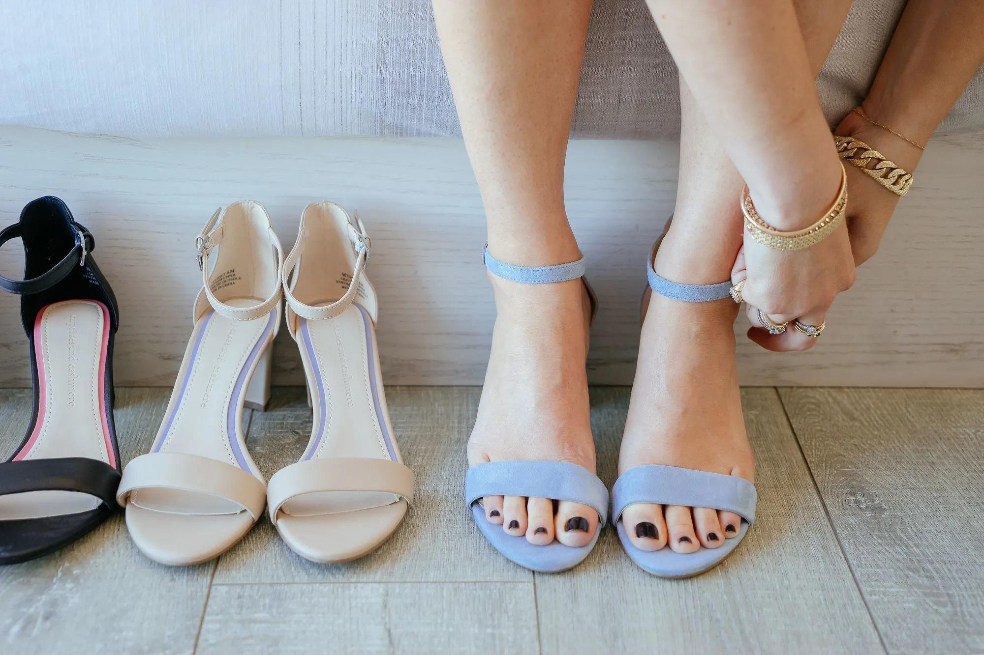 Emily Schuman's Feet