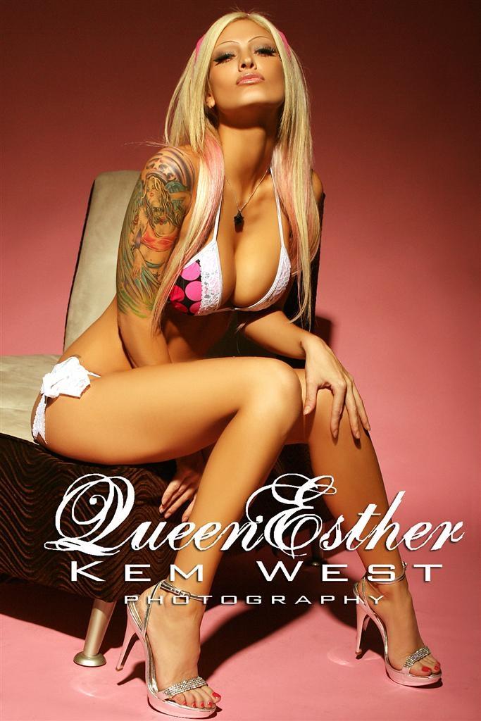 Queen Esther Model Nude