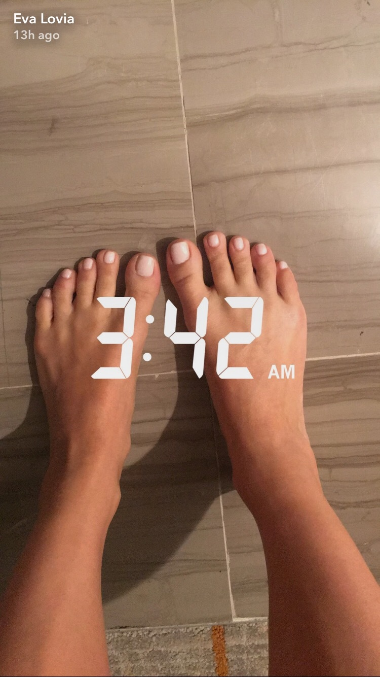Eva lovia feet soles massage licking 5