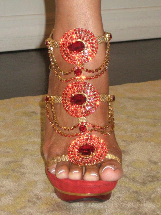evelyn lozadas feet