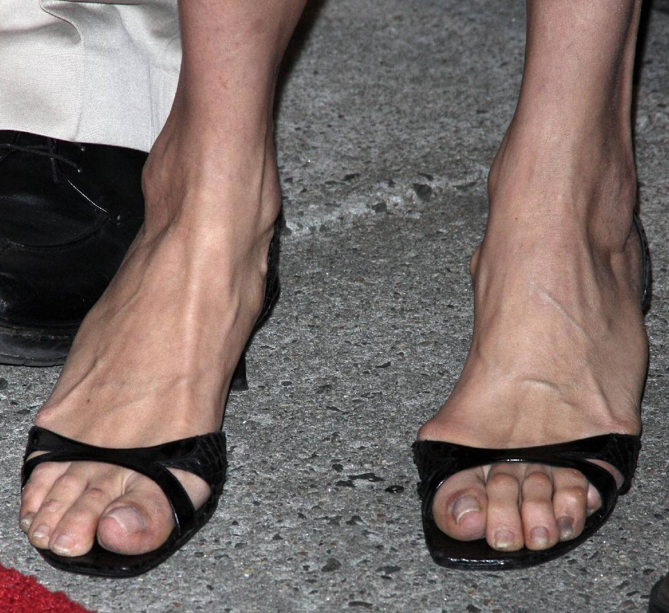 Famke Janssen Feet