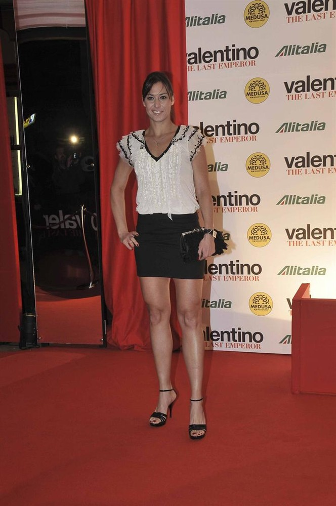 Flavia Pennetta's Feet Jessica Alba