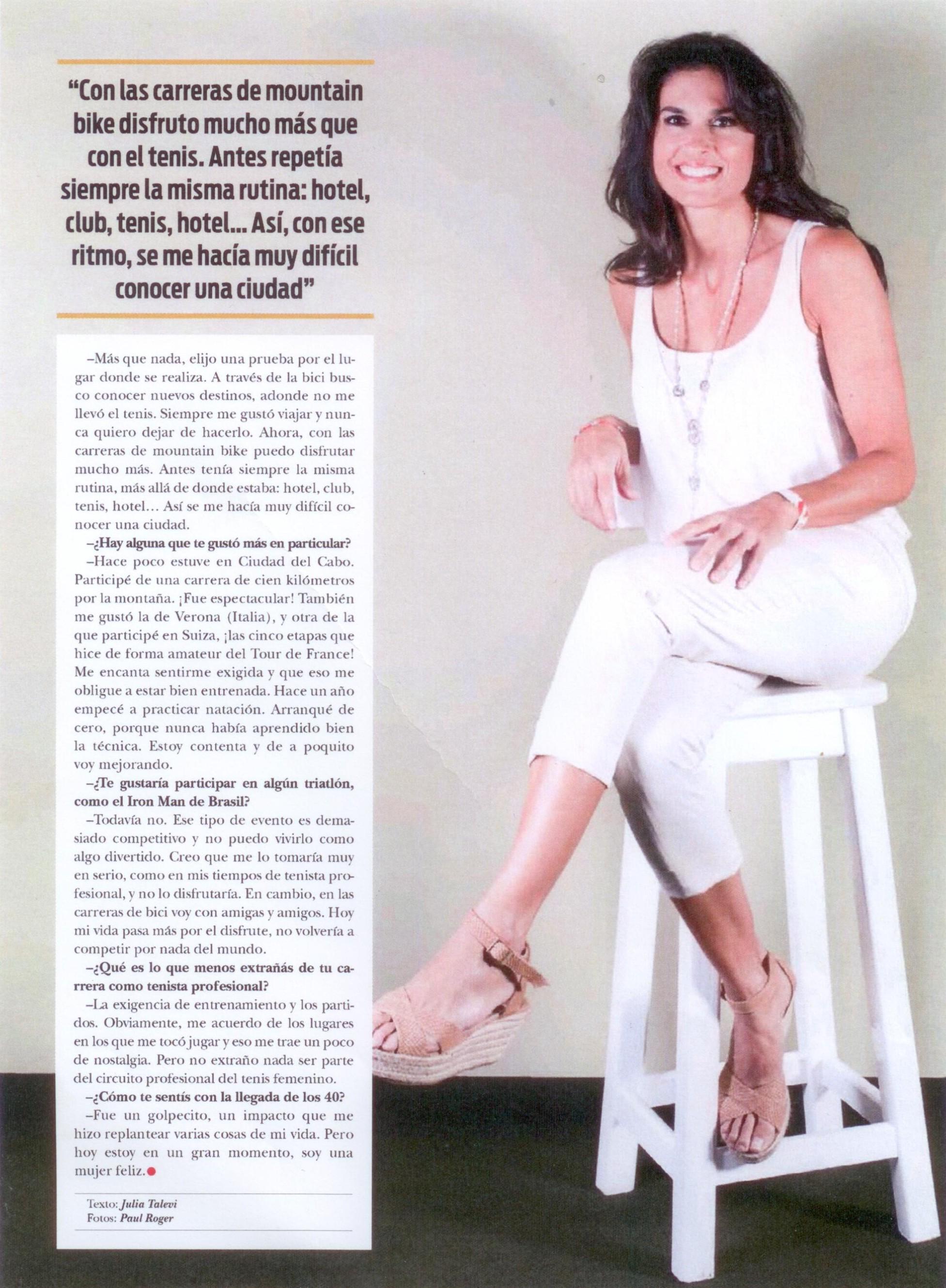 Gabriela Sabatini Feet