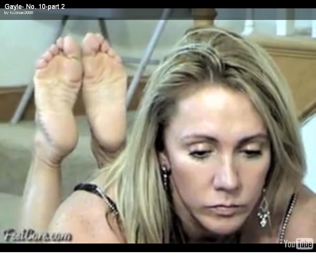 gayle moher feet