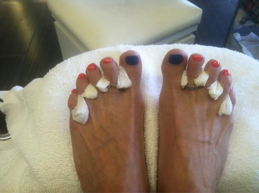 Gena Shaw's Feet