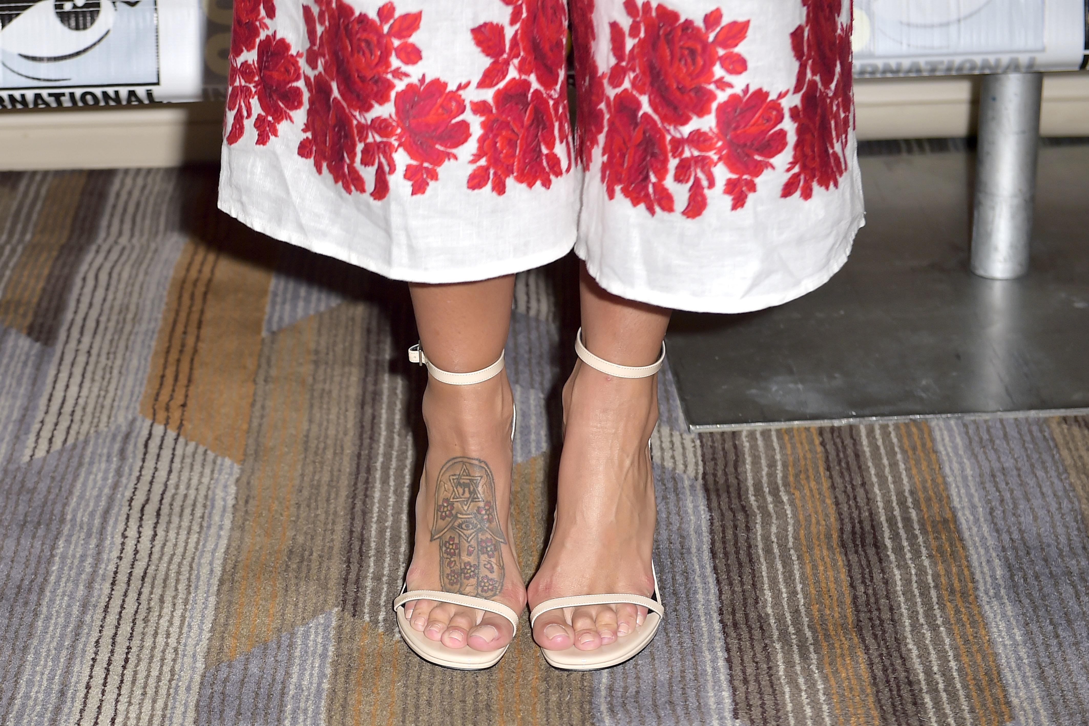 Genesis Rodriguez S Feet