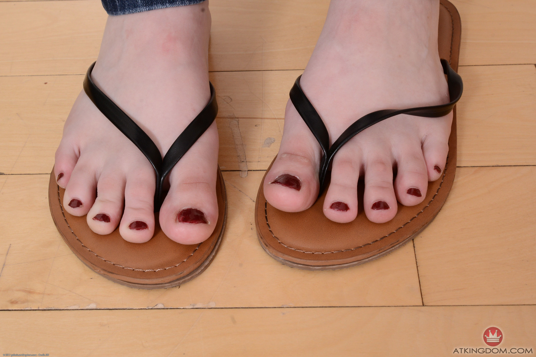 Gracie Green's Feet