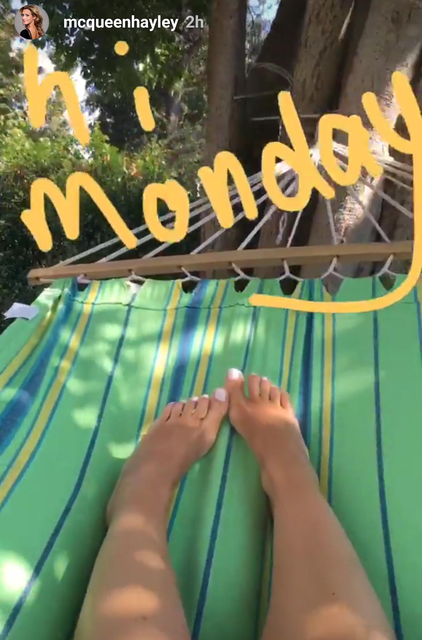 Feet Hayley McQueen nude photos 2019