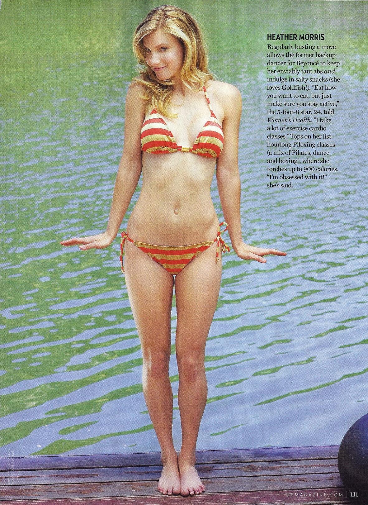 Heather morris body