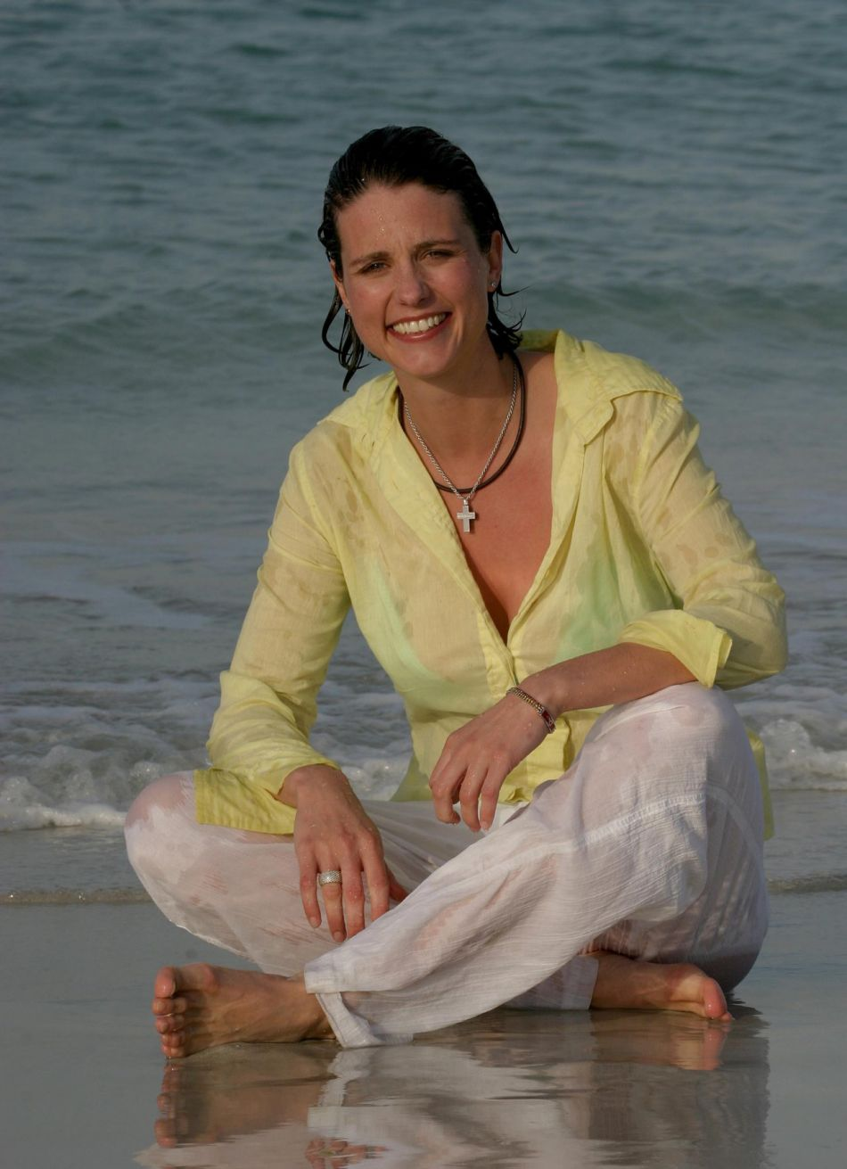 Heather Peace's Feet
