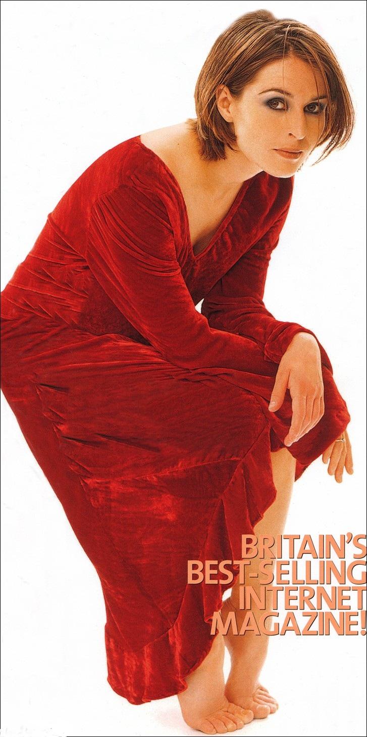 Helen Baxendale's Feet