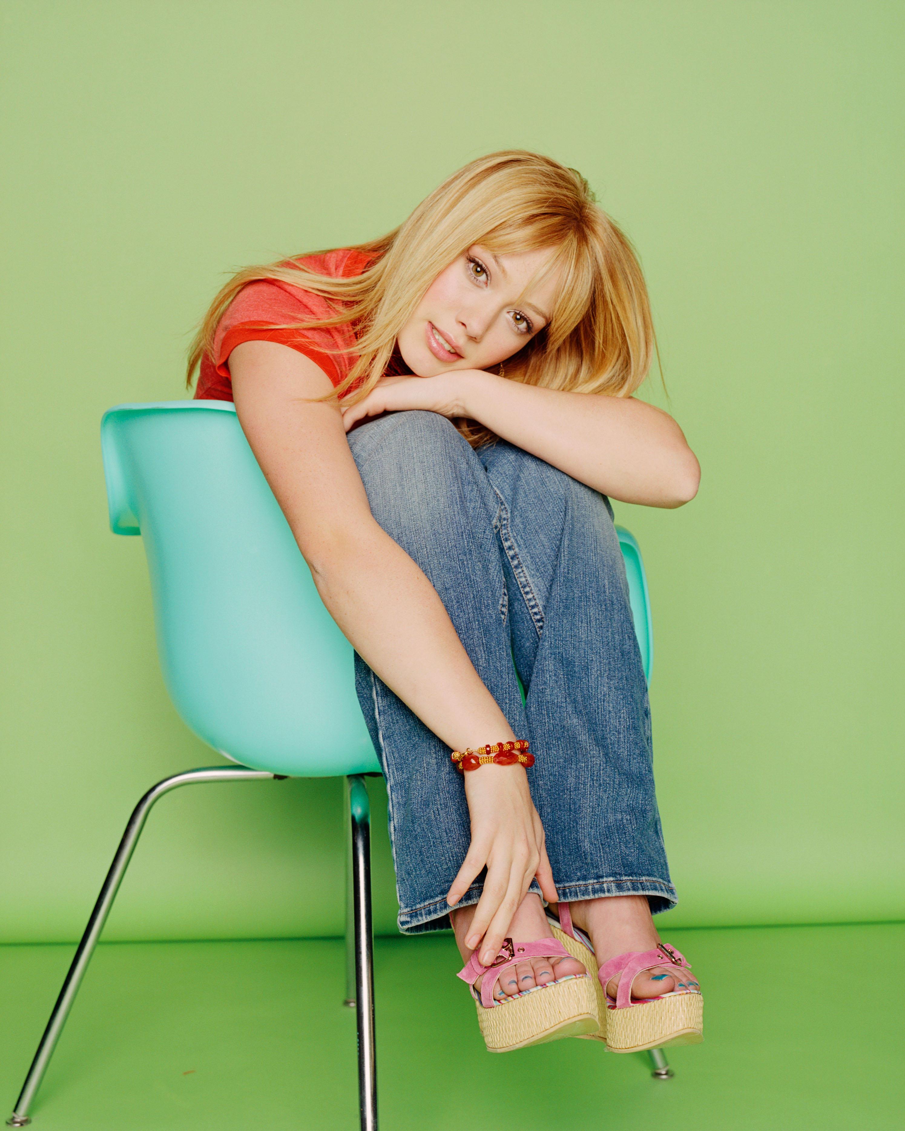Hilary Duffs Feet