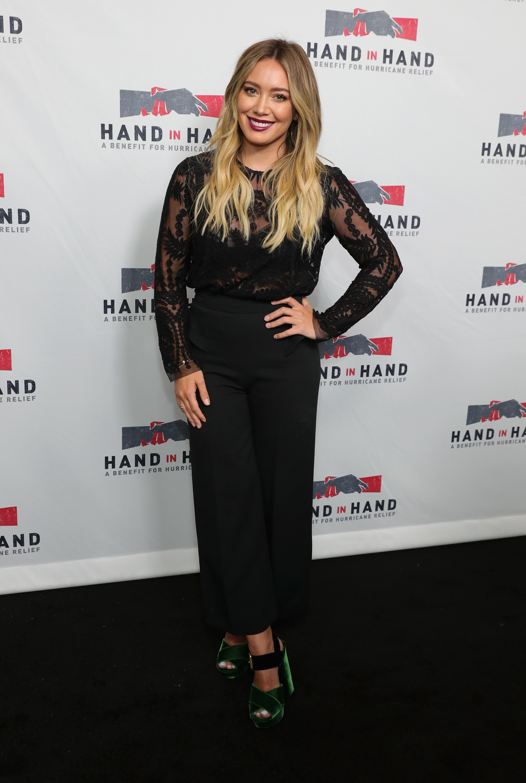 Hilary Duff's Feet Hilary Green Instagram