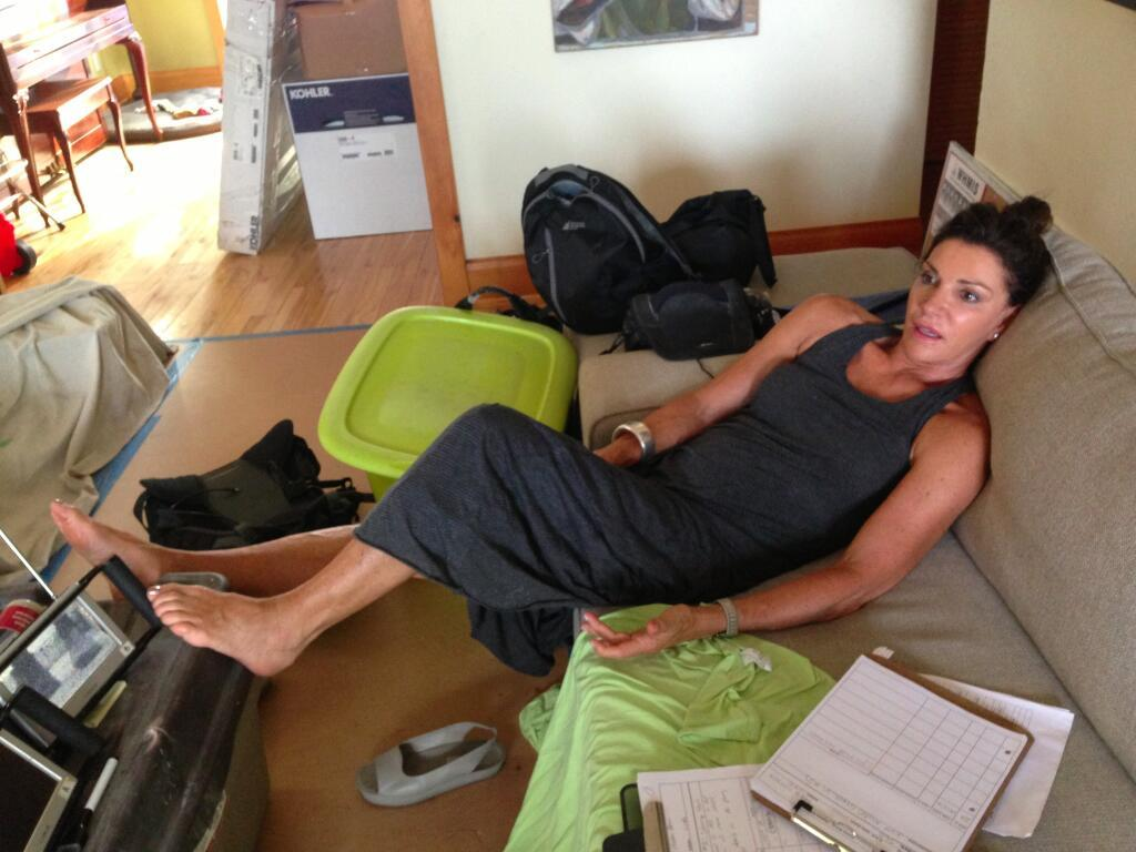 Hilary Farr's Feet
