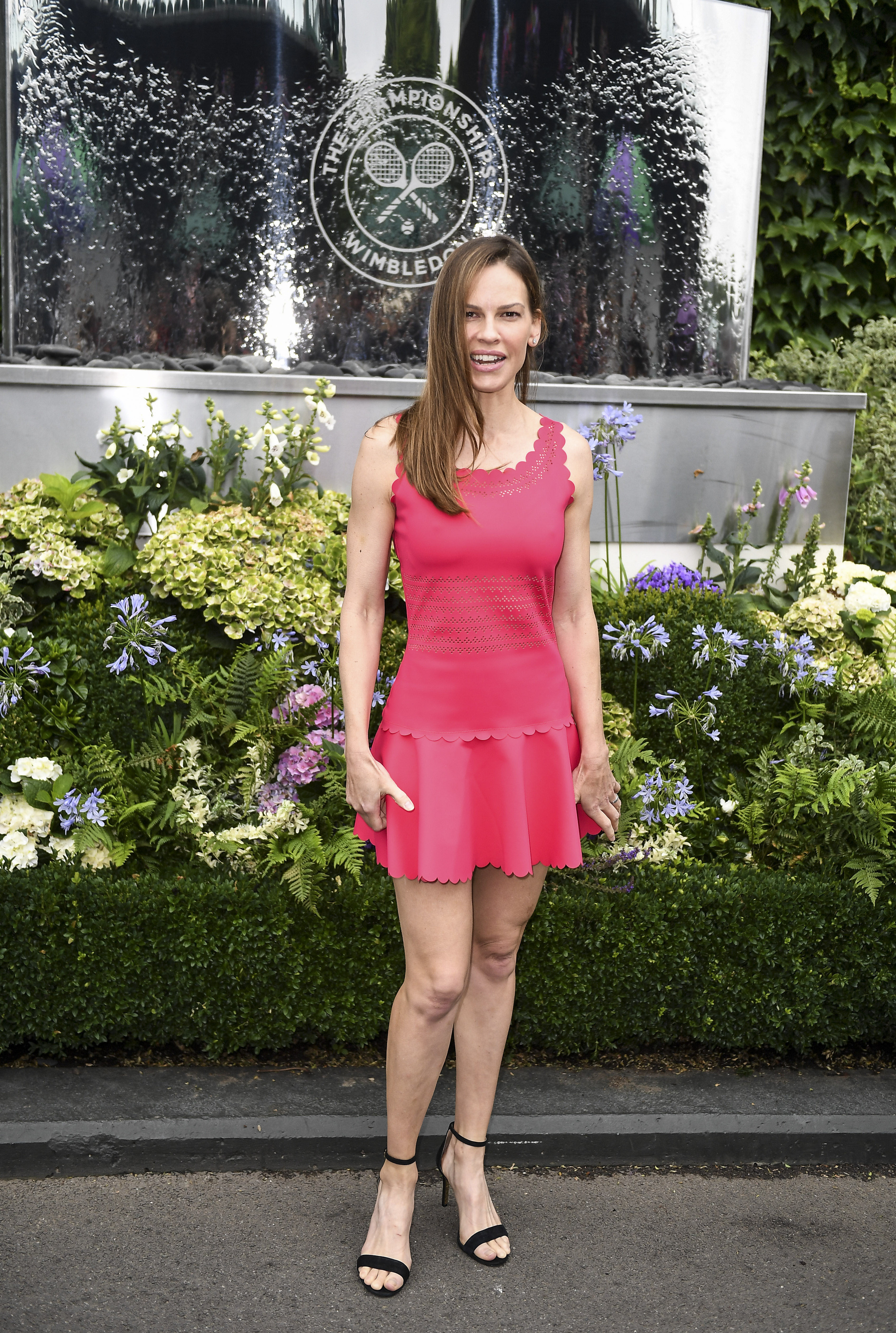 Hilary Swank's Feet