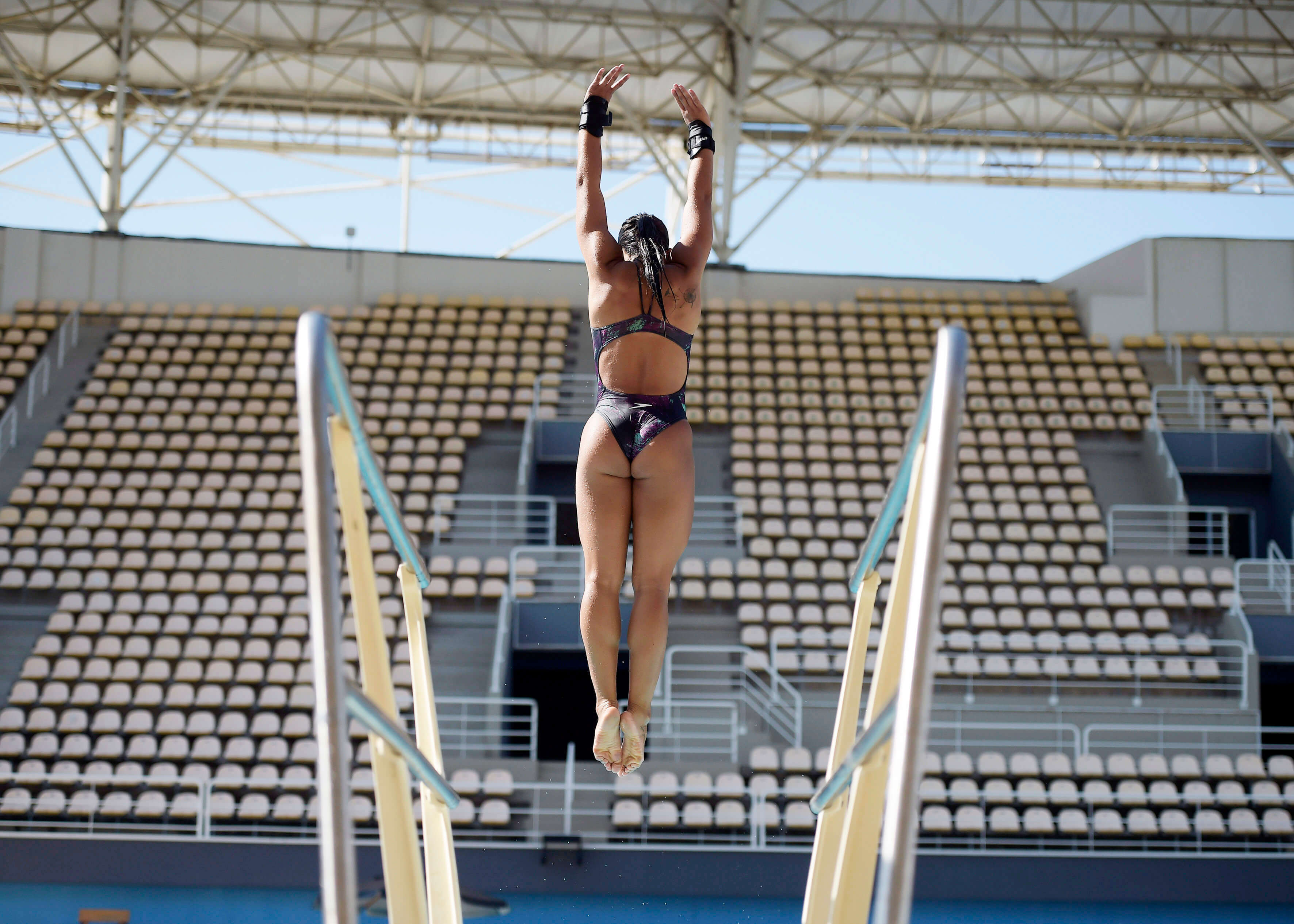 Nackt Oliveira  Ingrid de Olympian reportedly