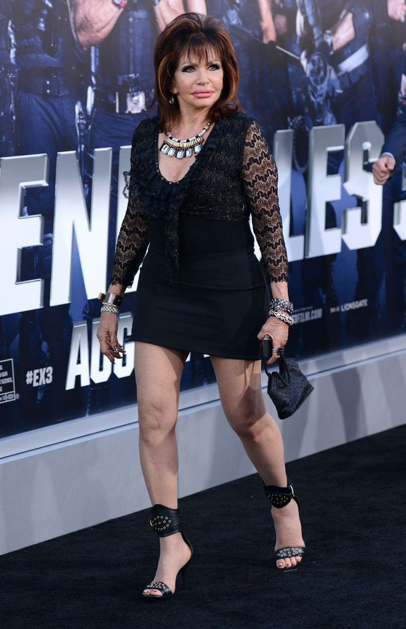 Sylvester Stallone charges fans over $1,000 for selfies in ...  |Jackie Stallone