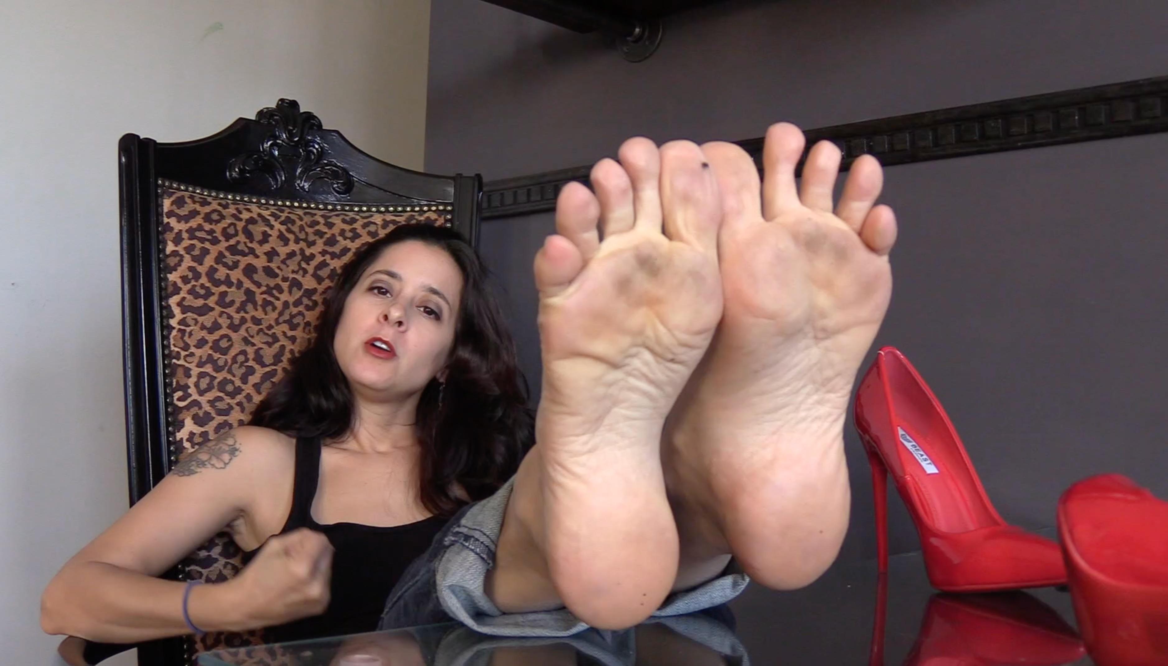 Jamie Daniels Füße Anbetung