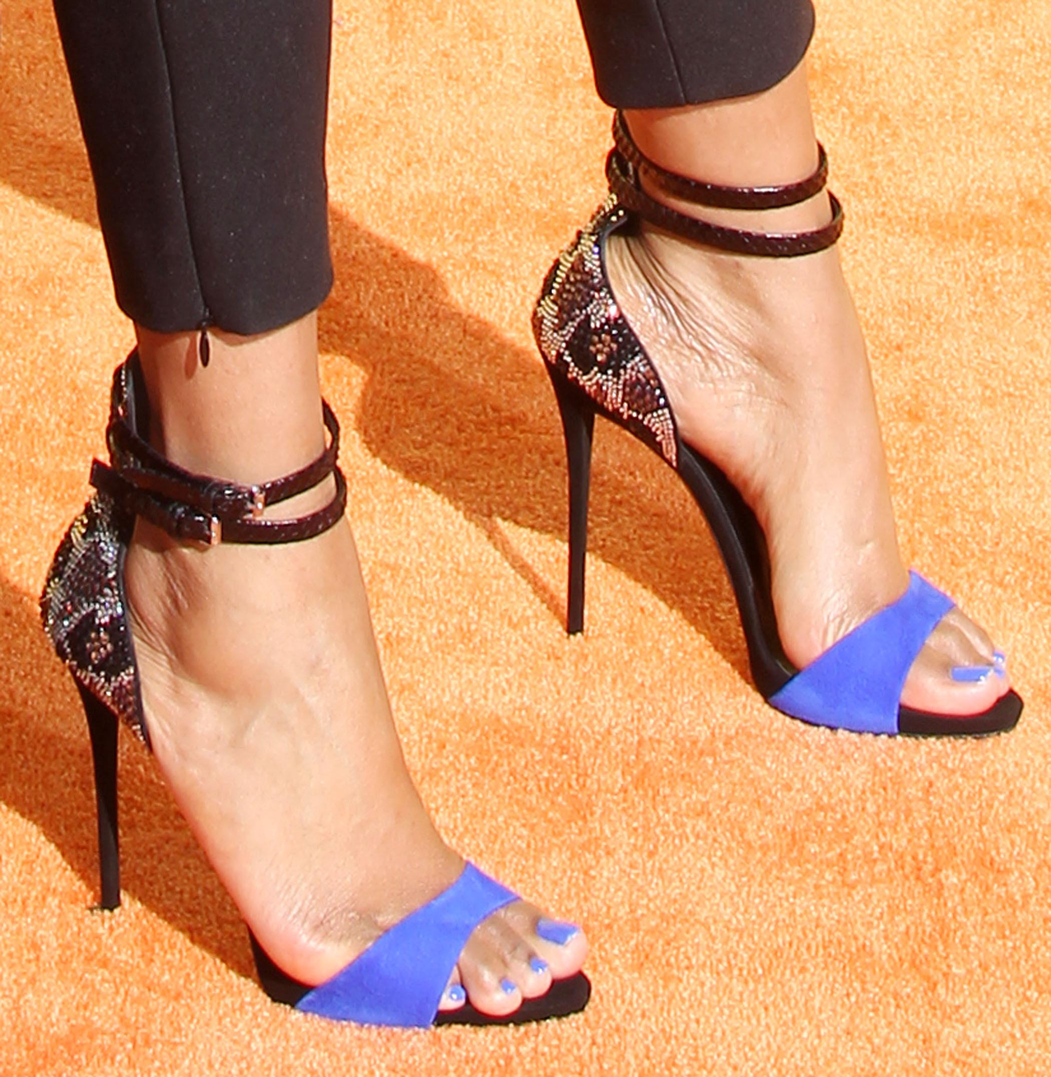 porno star beautiful feet