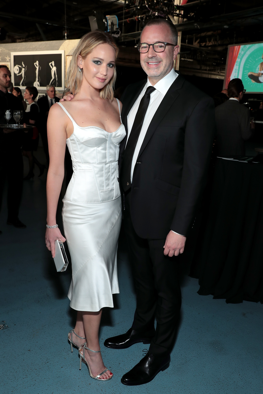 Jennifer Lawrence's Feet