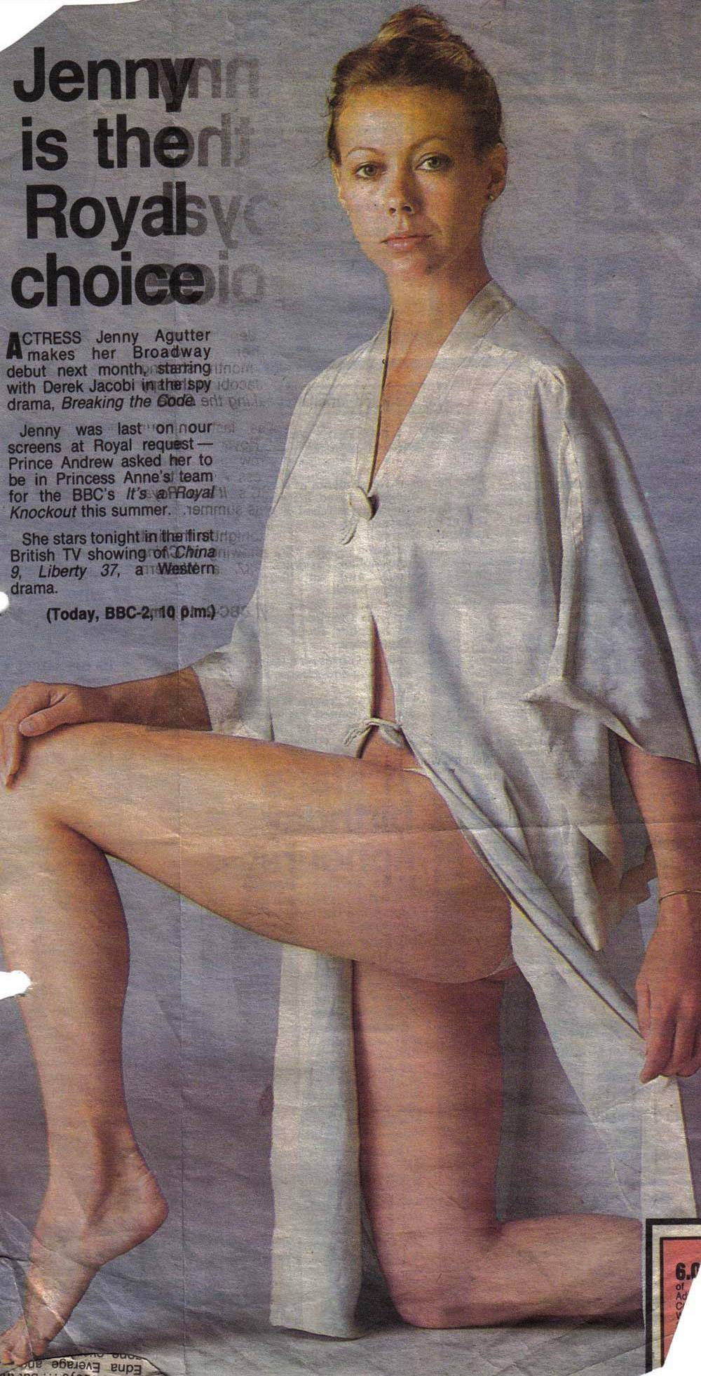 You Nude run jenny agutter sorry