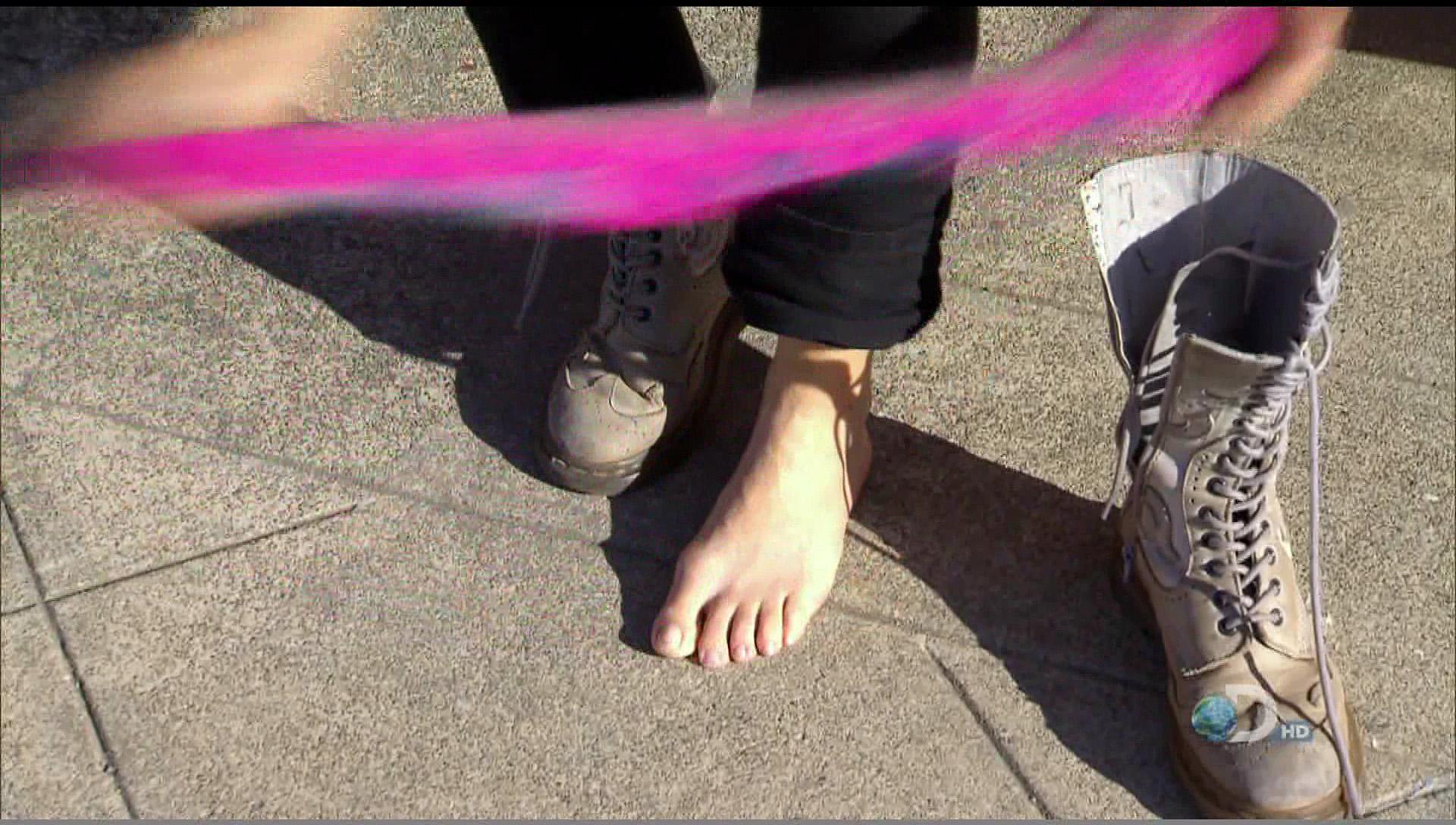 Jessi Combs Feet