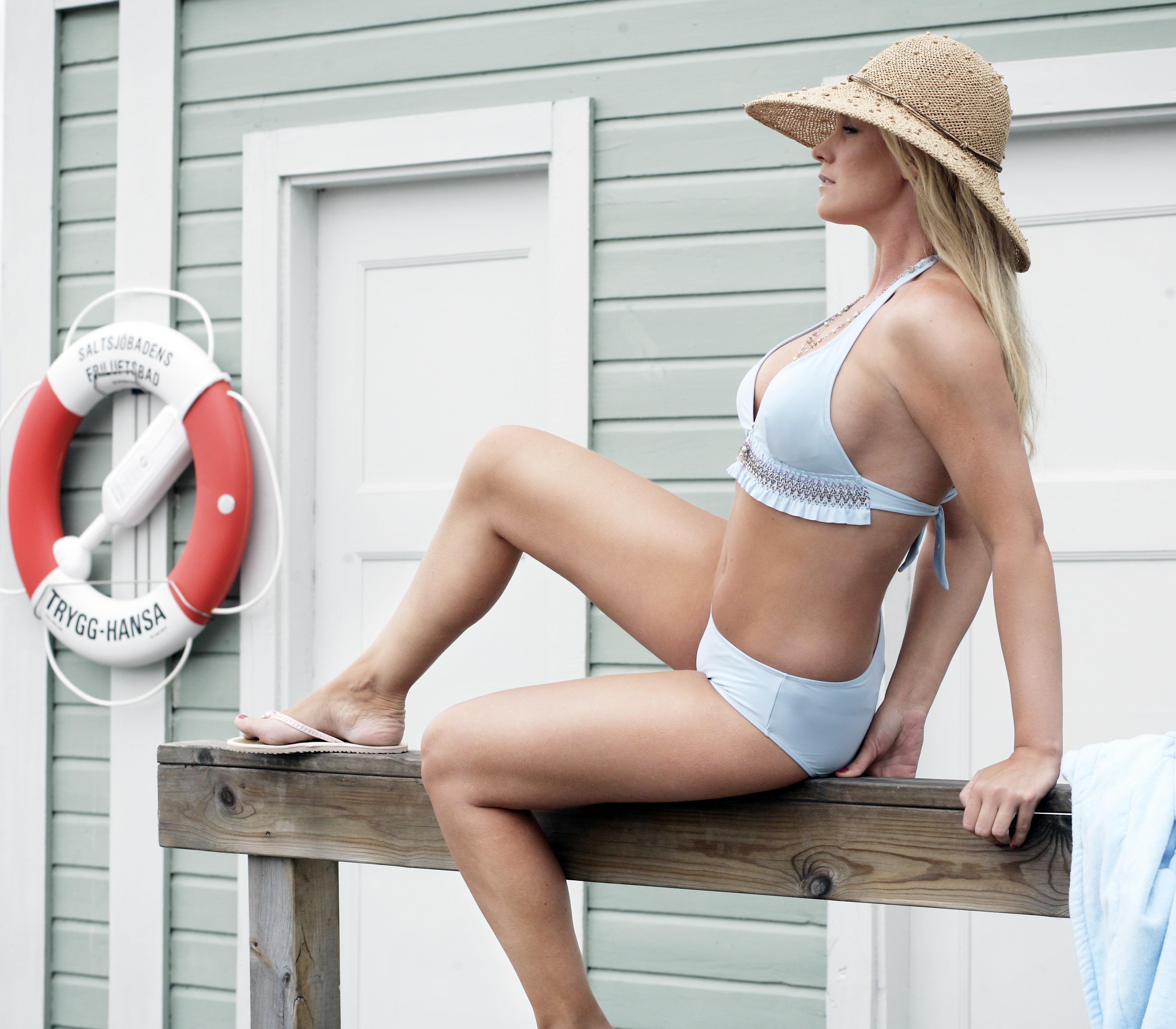 Jessica Andersson Bikini