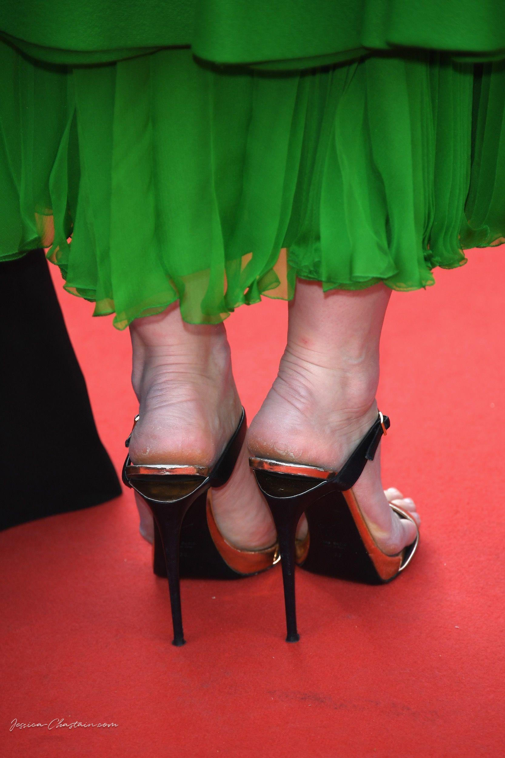 Jessica Chastains Feet-7182
