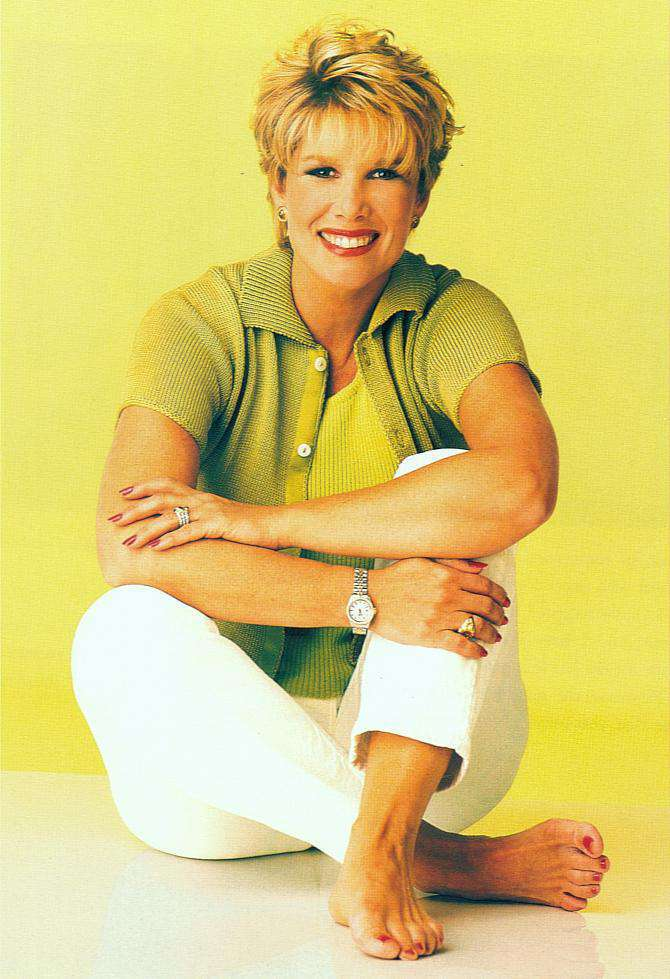 Joan Lunden's Feet