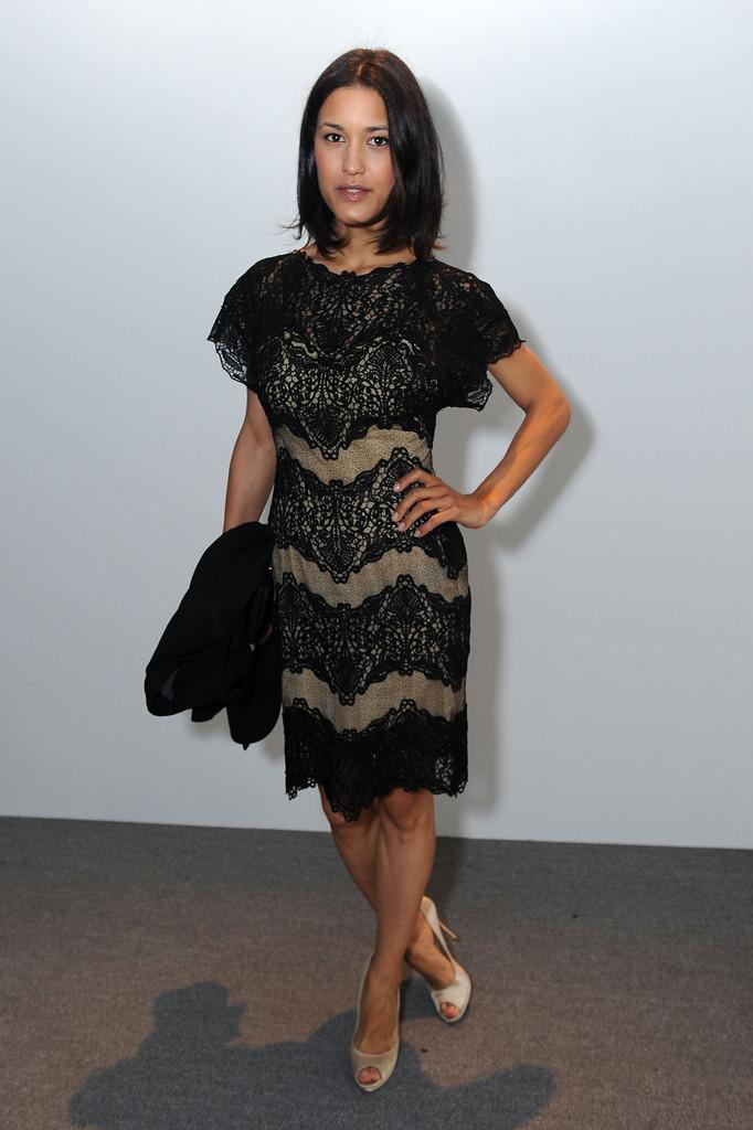 Julia Jones At Burberry Body Launch In Beverly Hills: Julia Jones's Feet