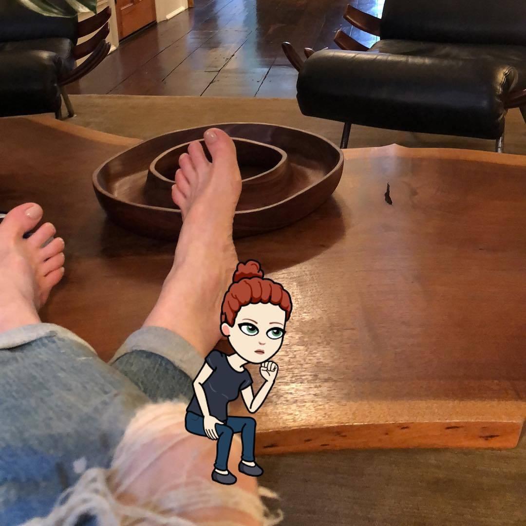 Julianne Moore's Feet