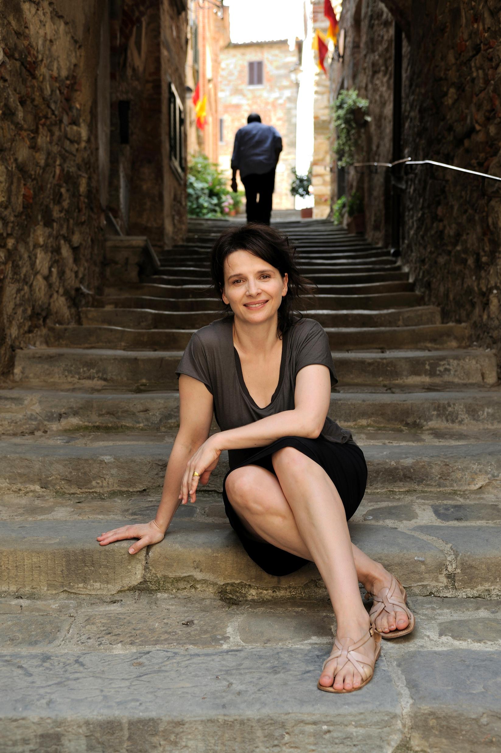 Juliette Binoches Feet