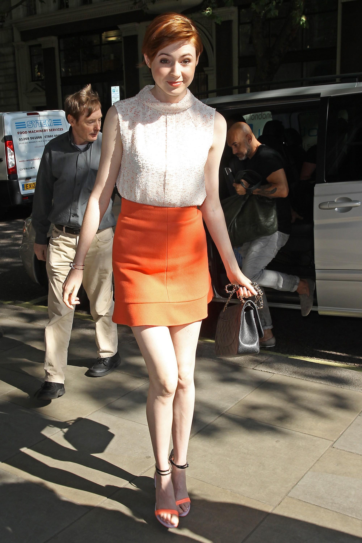 Karen Gillan High Heels