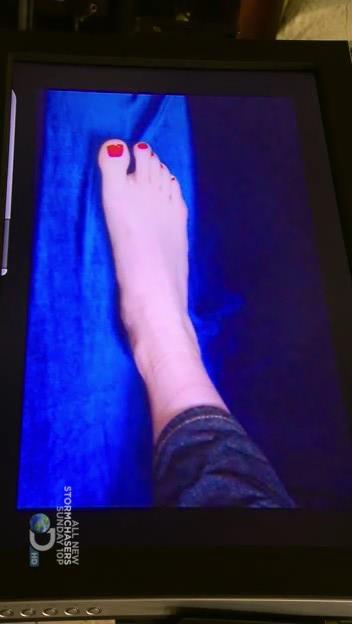 Kari Byron Feet Socks