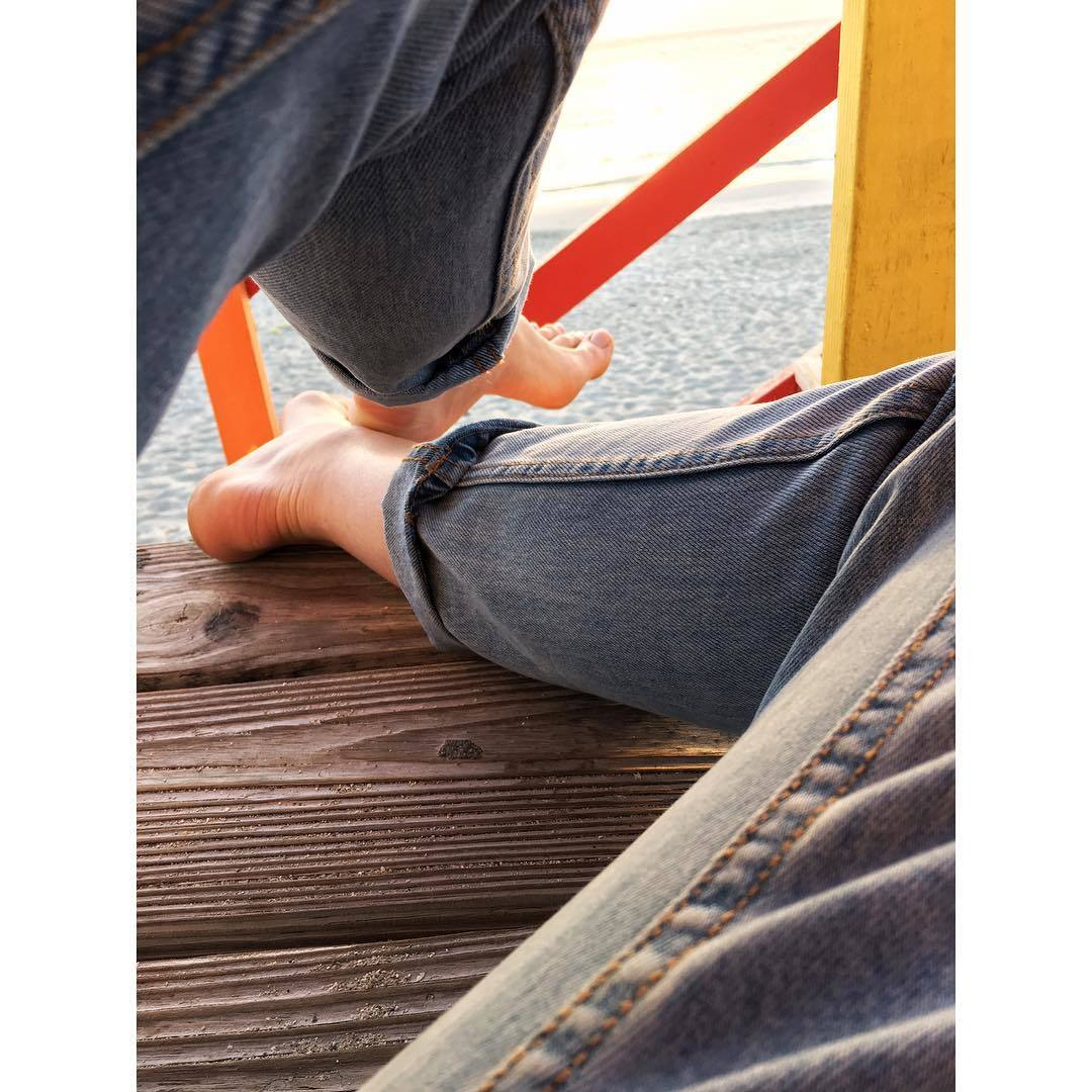 Selfie Feet Karlina Caune naked photo 2017