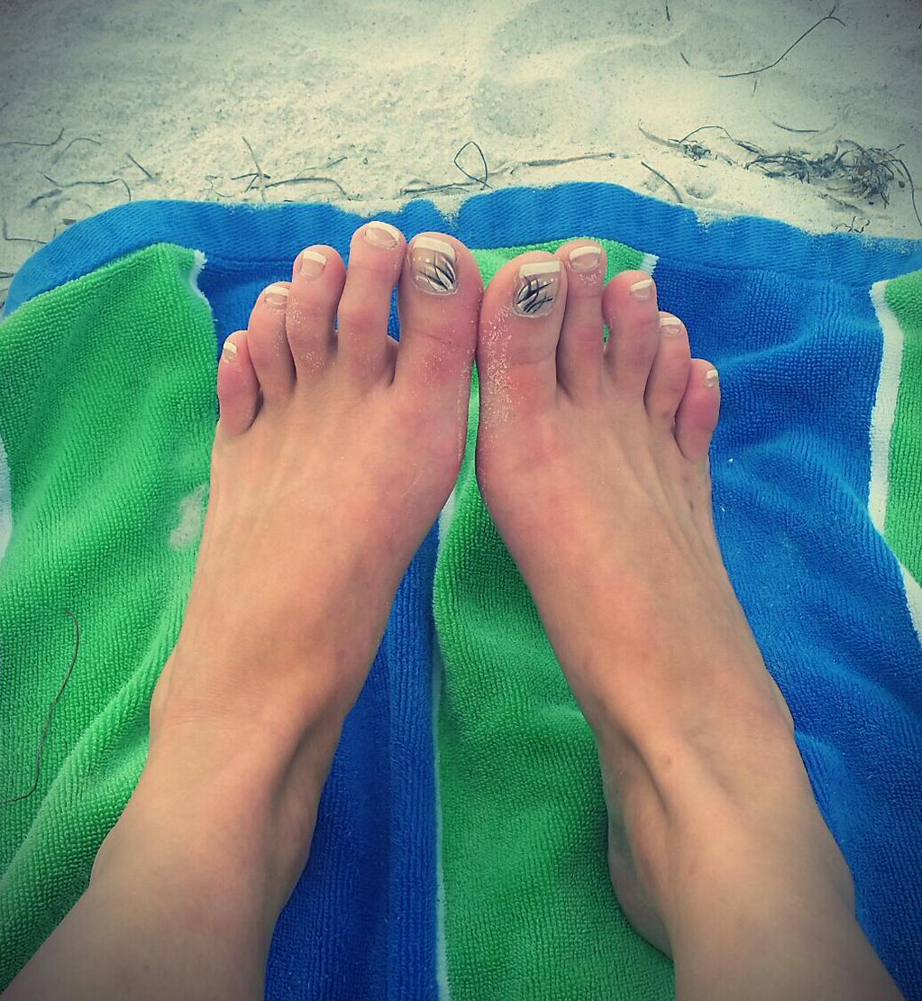 Kate Englands Feet