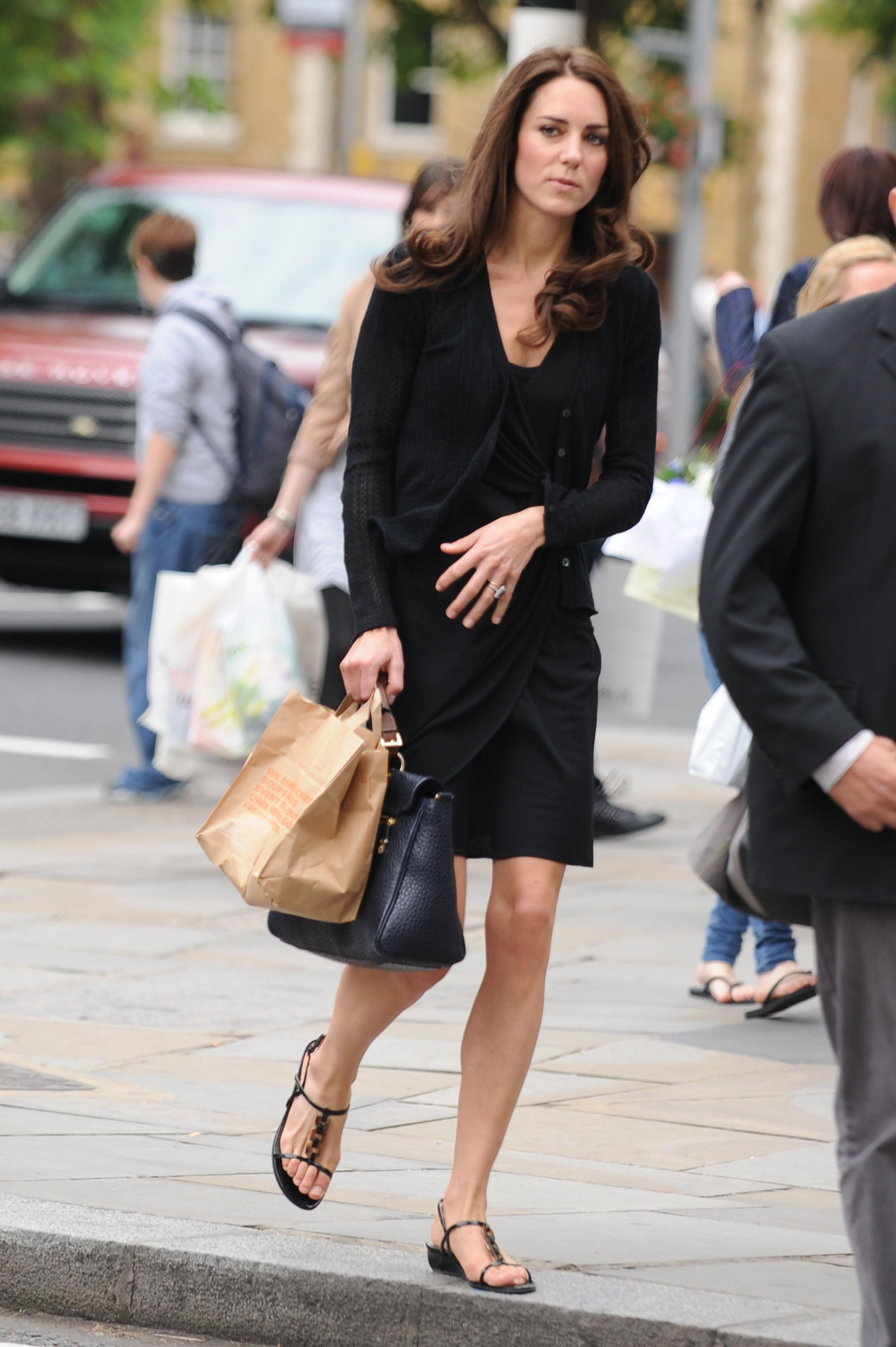 Kate Middletons Feet