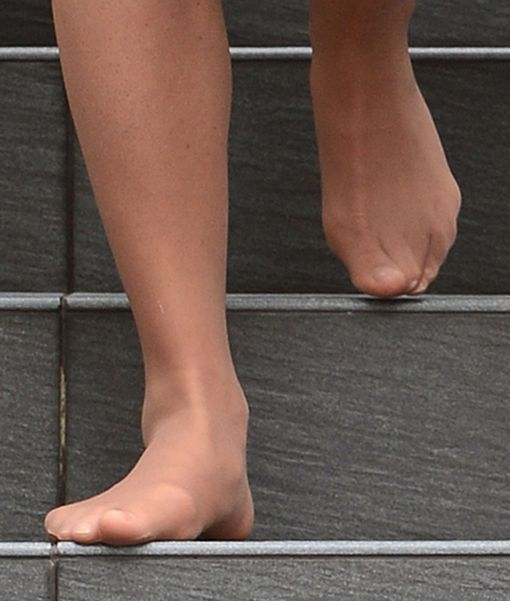 Nylon feet tickle and footjob 4