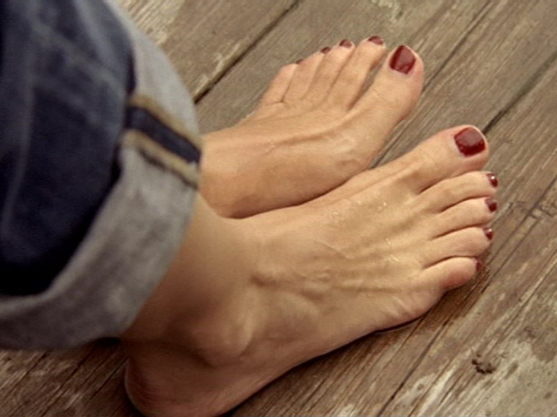 Katharina Böhm's Feet