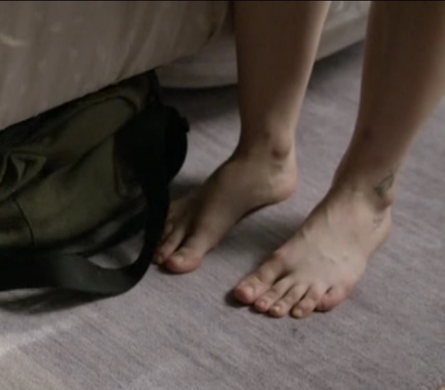 Kathryn Prescott's Feet