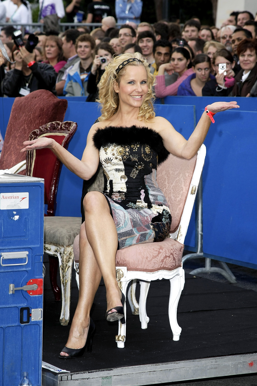 Burkard feet katja Celebrity Boots