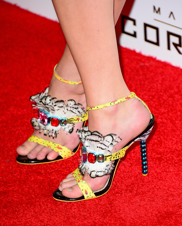 Kaya Scodelario S Feet