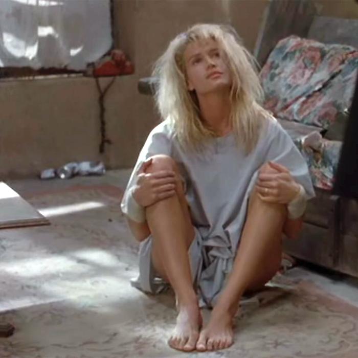 Kelly Lynch's Feet
