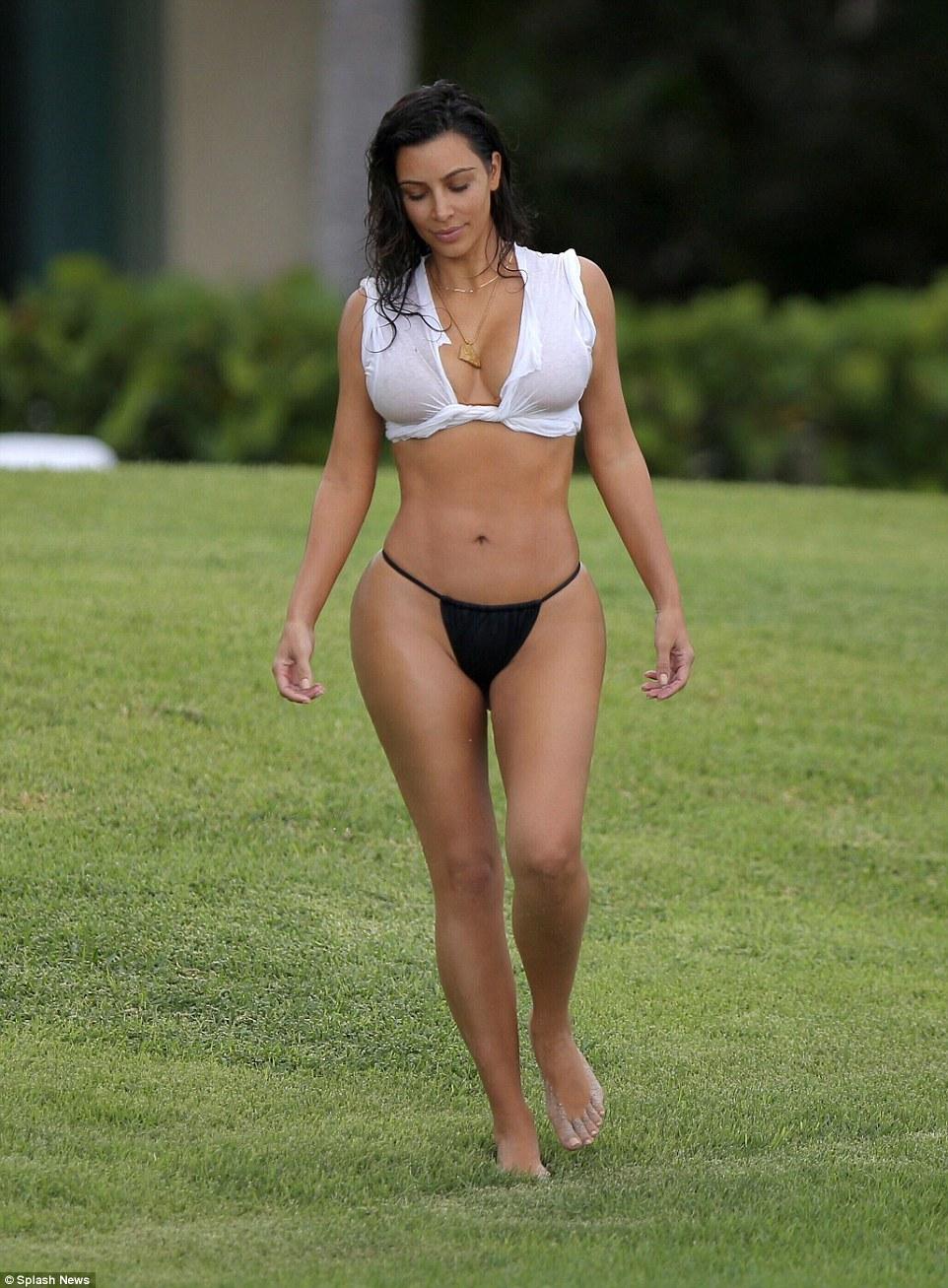 Kim Kardashian West Nude Photos 69